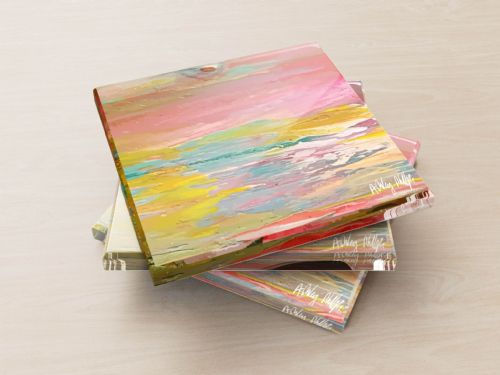 Excess Paint - Glass Coasters